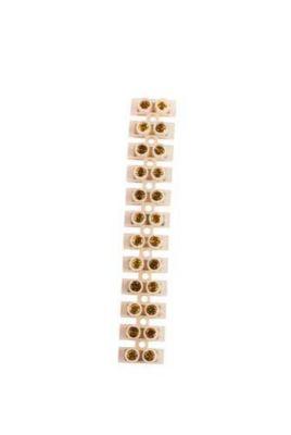 Conector Barra 12 Polos Para Cabo/Fio 4Mm2