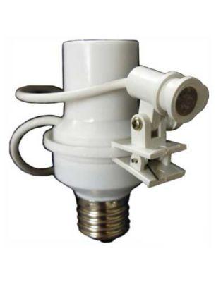 Soquete Com Fotocélula Para Lampada E27