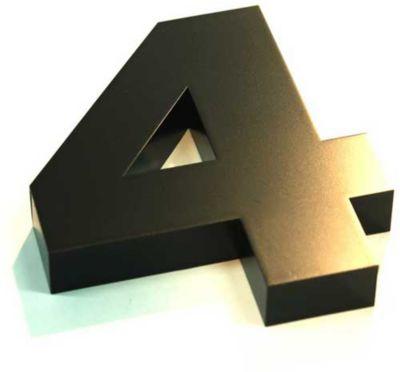 Algarismo Cx N 4 Preto 15cm