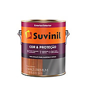 Esmalte Sintético Brilhante Alumínio 3,6L Premium para Madeiras e Metais