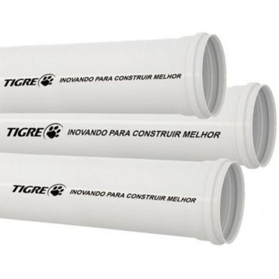 Tubo Esgoto Branco 100mm X 3m