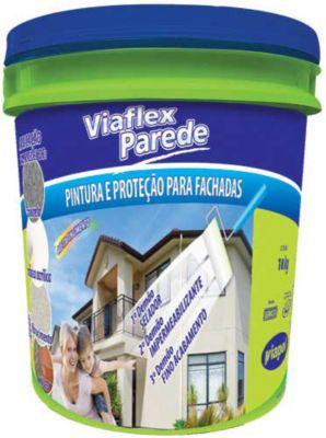 Viaflex Parede Balde, Branco, 18kg
