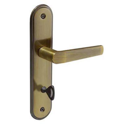 Fechadura 403 WC (Banheiro) 40mm Bronze Latonado