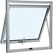 Janela Maxim-ar Alumínio Branco 60x60x4,7cm Alumifort