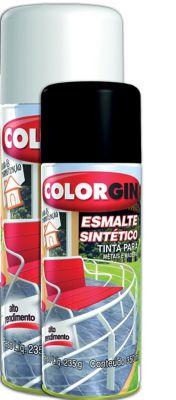 Tinta Spray Brilhante Colorgin 350ml Branco