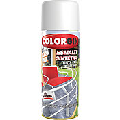 Tinta Spray Brilhante Colorgin 350ml Preto