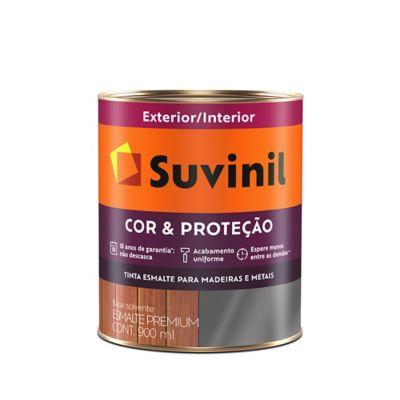 Esmalte Sintético Acetinado Gelo 900ml Cor e Proteção Premium para Madeiras e Metais