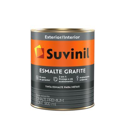 Esmalte Sintético Grafite Escuro 900ml Cor e Proteção Premium para Madeiras e Metais