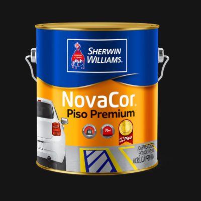 Tinta Fosco Exterior e Interior Novacor Piso 3,6L Preto