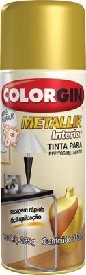 Spray 350ml Metallik Brilhante Dourado