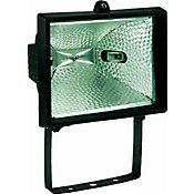 Refletor Lâmpada Halógena, Preto, 300/500W