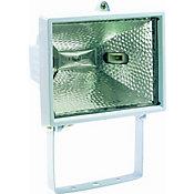 Refletor Lâmpada Halógena, Branco, 300/500W