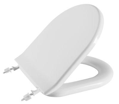 Assento Sanitário Almofadado Calypso Branco