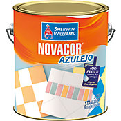 Tinta Acetinado Novacor Azulejo 3,6L Branco