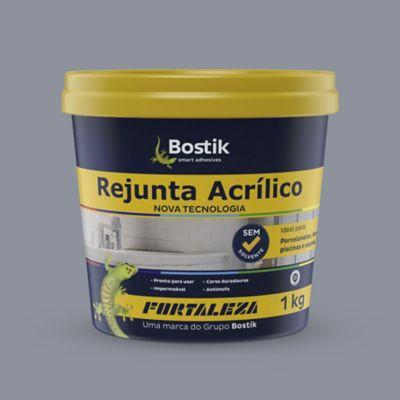 Rejunte Acrílico 1Kg Cinza
