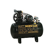 Compressor Bravo 10Br100L, Preto, 127V