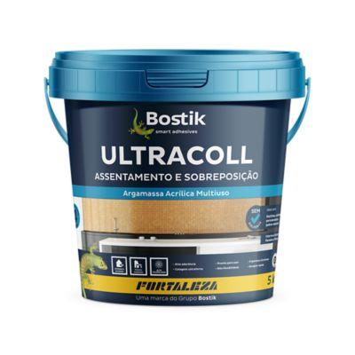 Argamassa UltraColl Acrílico 5kg Branco