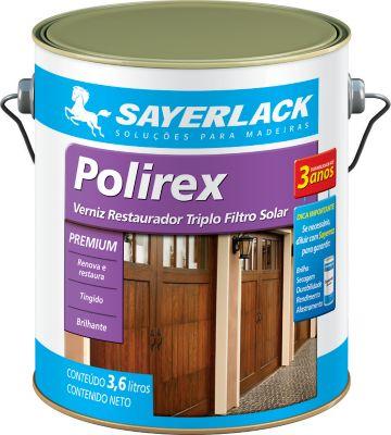 Verniz Polirex Brilhante 3,6L Imbuia