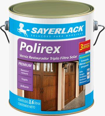 Verniz Polirex Brilhante 3,6L Mogno
