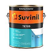 Tinta Fosco Exterior e Interior Tetos Standard 3,6L Branco