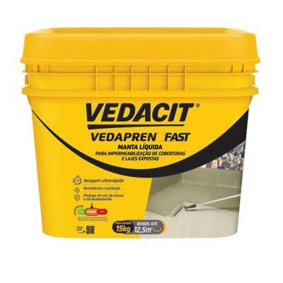 Vedapren Fast, Concreto, 15kg, 25x29x24cm