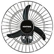 Ventilador de Parede 50cm 127V Preto New