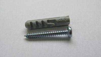 Parafuso Cabeça Panela com Bucha 6 Peças, 6mm