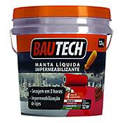 Bautech Manta Líquida, Cinza, 12kg, 27x27x27cm