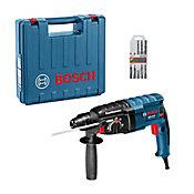 Martelete Perfurador Rompedor Bosch GBH 2-24 D 820W  5 Brocas
