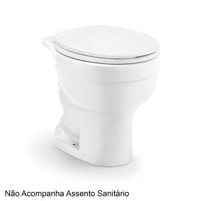 Vaso Sanitário Convencional Acesso Confort 6L Branco