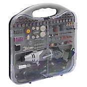 Kit Micro Retífica Elétrica com Maleta e 190 Acessórios 220V