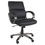 Cadeira Executiva Milan, Preto, 64,5x98x69,5cm