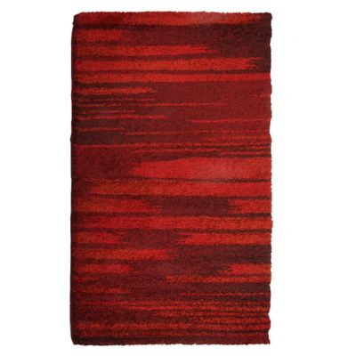 Tapete Wellness 120x170cm Vermelho