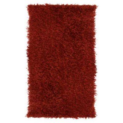 Tapete Shaggy Vermelho 50x114cm
