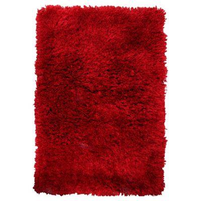 Tapete Elegance Shaggy 160x230cm Vermelho