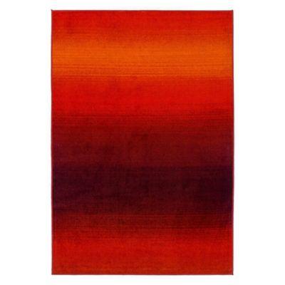 Tapete Generacion 150x220cm Vermelho