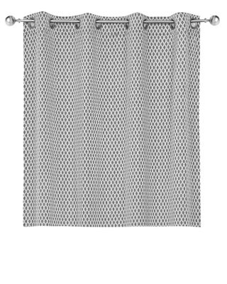 Cortina Java 2 Folhas, Cinza, 140X230cm