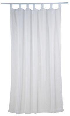 Cortina Voil Presilha, Branca, 145X220cm