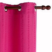 Cortina de Algodão 2 Folhas 150x230cm Rosa
