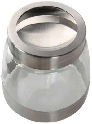 Porta Condimento Inx/Vid 14Cm Hcn Transparente 950ml