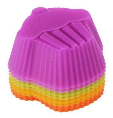 Conjunto Forma Cupcake 8 Peças, Sortido