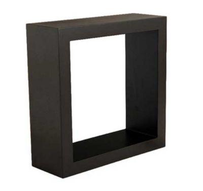 Cubo Quadrado Deco Chocolate 33x33x12cm