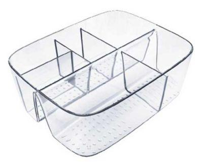 Organizador Multiplo Acrílico, Transparente, 20x7x16cm
