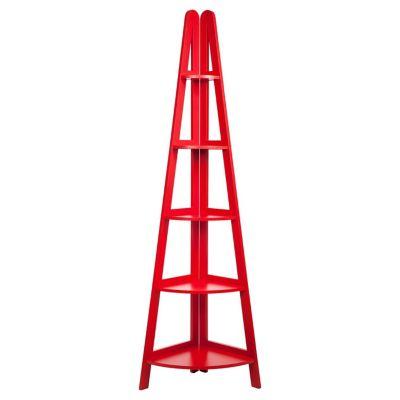 Estante Esn Vermelho 39x180x39cm
