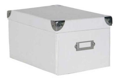 Caixa Escritório P Branco - Homy
