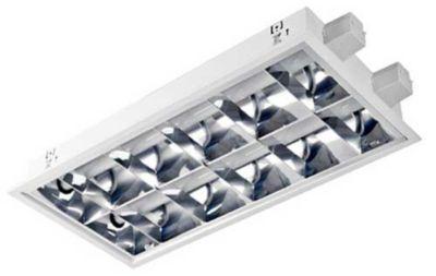 Luminária de Embutir Alta Eficiência 2 Lâmpadas 8W LED