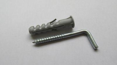 Bucha com Escapulas Zincado com 4 Peças 8mm