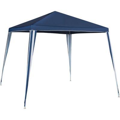 Gazebo de Poliéster Montável 300x300cm Azul
