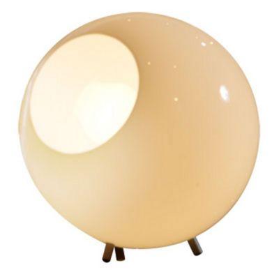 Luminária de Mesa Ball Branco, Bivolt