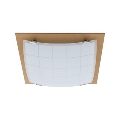 Plafon Wood Cuad Branco - Newair Imp